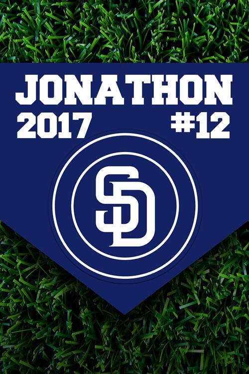 Baseball San Diego Padres Team Sports Banner